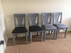 Table chairs. 4 chairs