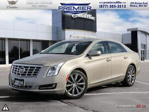 2014 Cadillac XTS FWD leather sunroof one owner!
