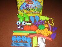 Joblot Kid K'Nex - 5 x Complete Sets (incl Bucket of Buddies) – Excellent condition.