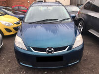 Mazda5 1.8 TS2 5dr - ONLY 68k Miles, 12 Months MOT, 6 Service Stamps, 7 Seater, Warranty Inc! £2395