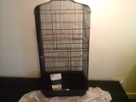 Big bird cage, very good condition, 100x40x27