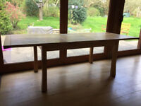Extendable Oak Dining Table (Good Condition)