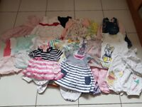 Baby girls clothes bundle 3-6 months (bundle 1)
