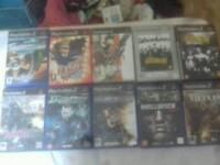 10 PS2 GAMES PLUS ACCESSORIES JOBLOT