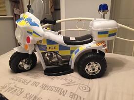 CHILDREN'S POLICE BIKE