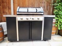 5 Burner Gas Barbecue and heavy duty cover - Excellent working order