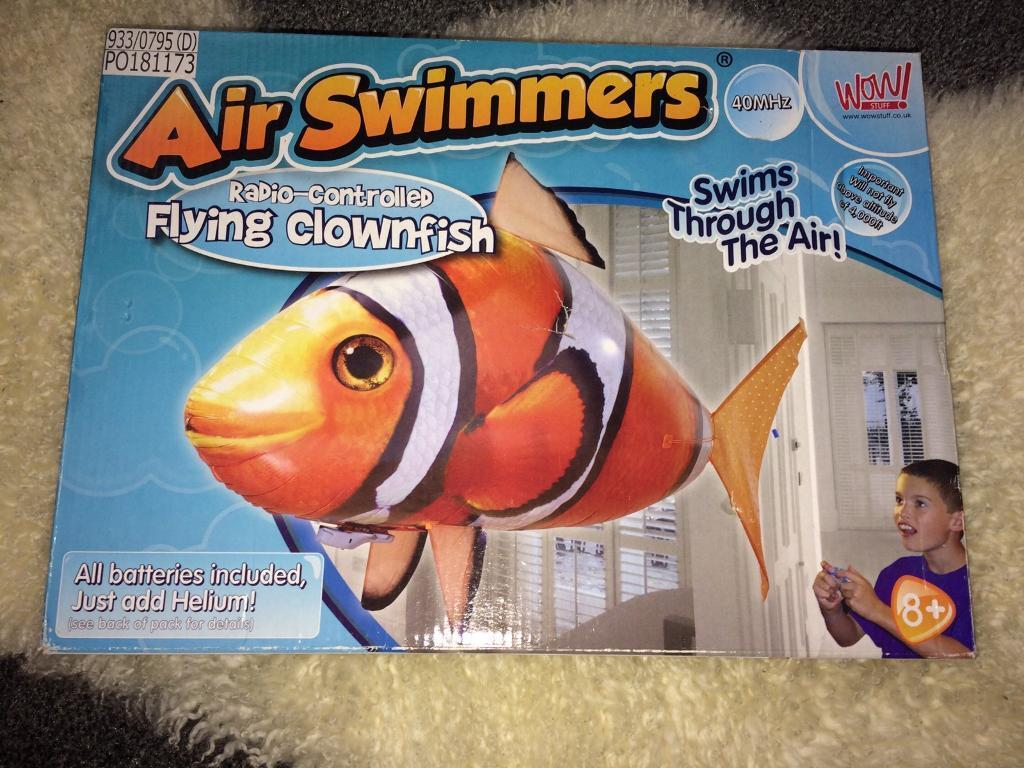 Clownfish Air Swimmer brand new toy