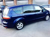 2007 Ford S-Max 2.0 TDCi Zetec MPV 5dr Diesel Manual+STAMPED HISTRY+1 YR MOT+7SEATS