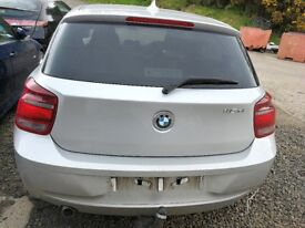 BMW 116D F20 2013 Silver - For parts only!