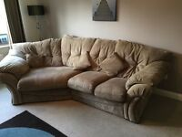 Two and Three seater sofa with cosy corner