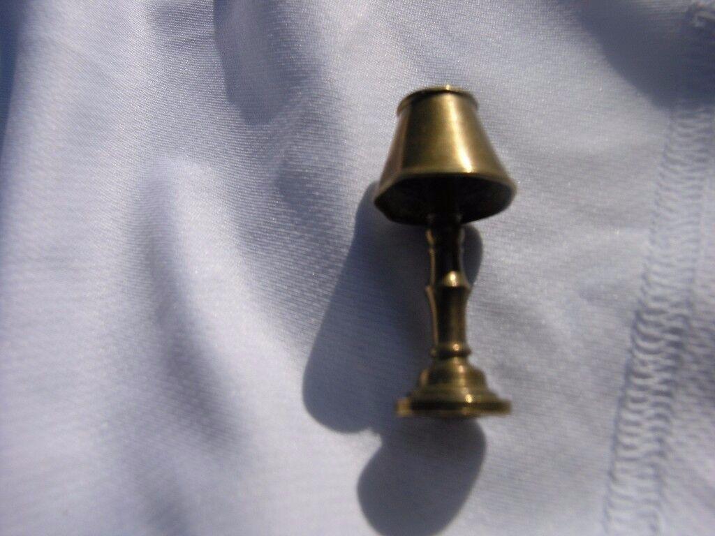 Brass Standard LampFor Doll Gouse 47mm High Weymouth