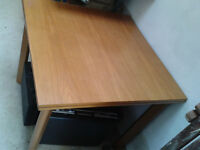 Dining Table Stable Solid wood Extendable