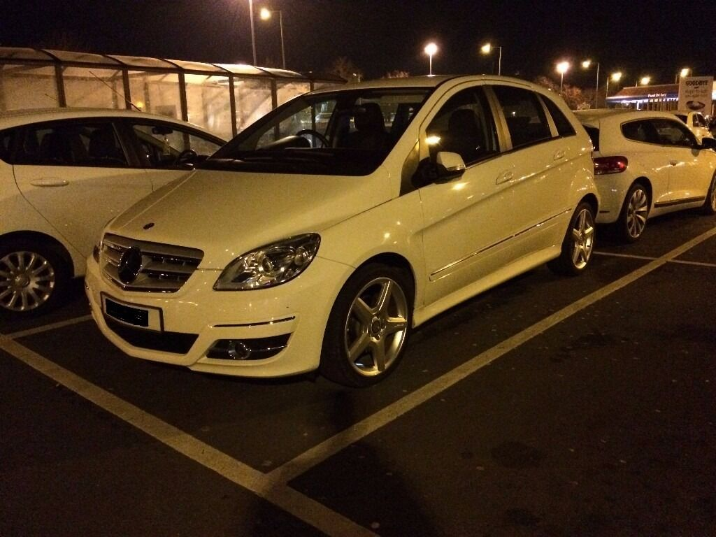 Mercedes B Class 6 Speed Manual Diesel 53.800 Miles White AMG
