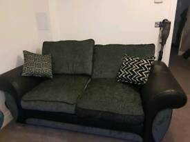 4 seater sofa and 3 seater sofa bed