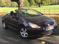 PEUGEOT 307Cc CONVERTIBLE (FULL LEATHER SEAT)