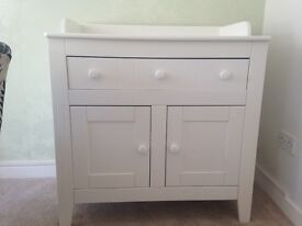 Very good quality, solid changing table.