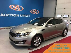 2012 Kia Optima EX Turbo HUGE SUNROOF! FINANCE NOW!