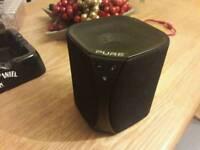 Pure jongo bluetooth speaker