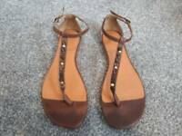 Ladies fat face sandals