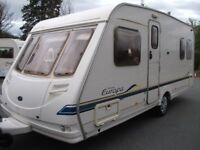 *LIGHTWEIGHT, STERLING EUROPA 490 FIXED BED, 4-BERTH, GREAT CONDITION*