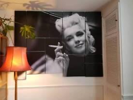 Bespoke Premium Marilyn Monroe Canvas Display