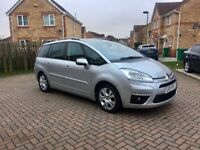 2011 CITROEN C4 GRAND PICASSO DIESEL AUTOMATIC, 7 SEATER CAR, MILEAGE 44000, FULL HISTORY, FULL MOT