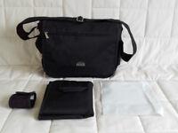 Quality change bag in black