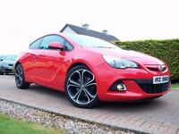 SEPTEMBER 2014 VAUXHALL ASTRA GTC LIMITED EDITION S/S *LOW MILES* *MINT*