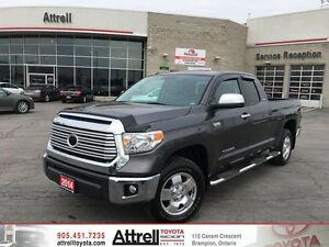 2014 Toyota Tundra DBL Cab Limited Standard Package. Dual Air, B