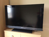 SONY 32 INCH FULL HD 1080P SMART TV WITH REMOTE AND MANUALS not SAMSUNG LG