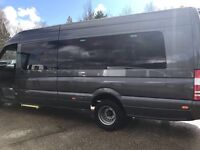 Minibus hire in london