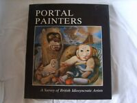 Portal Painters British Idiosyncratic Artists Book by Eric Lister