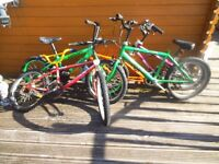 JOBLOT OF BIKES FOR SPARES OR REPAIR - SEE ALL PHOTOS BMX - BUNDLE MUST GO BARGAIN