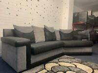 Beautiful Grey & Black SCS corner curved sofa delivery 🚚 sofa suite couch furniture