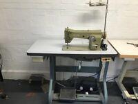 Industrial sewing machine zig zag and straight stitch