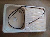 Caravan kitchen sink/drainer