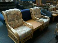 2 conservatory chairs #34095 £40