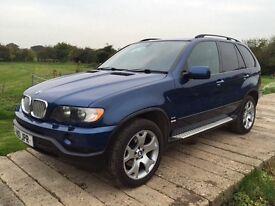 BMW X5 M SPORT 4.4 PETROL AUTO 2002,SAT NAV,TV,DVD,FULL LEATHER,FULL ELECTRIC,MOT TILL SEPTEMBER