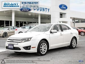 2010 Ford Fusion SEL 3.0L V6 - CLEAN CARPROOF, LEATHER!