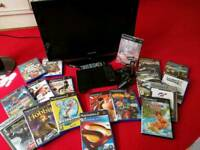 Bundle Ps2+TV+18 games