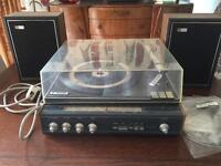 1970's Phillips Record player tuner spares or repair