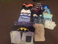 Bundle of boys clothes size 1-2