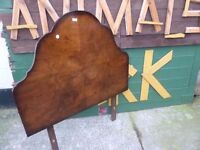 Dark wood Single Bed Headboard £10
