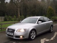 2008 AUDI A6 2.0 TDI S LINE 6 Spd **LOW MILES - FSH - NEW TURBO - BARGAIN**