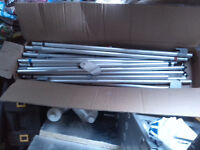Caravan Awning 22mm replacement support/storm poles with easy grip clamps £13 each or offers 4 lot