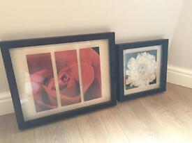 Next home floral picture frames