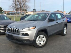 2017 Jeep Cherokee SPORT**BLUETOOTH**4X4**5.0 TOUCHSCREEN**