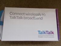 Brand new Talktalk wireless router