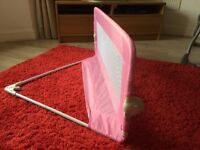 Pink Tomy Bed Rail