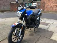 Lexmoto ZSA 125 2016 low miles for sale £950